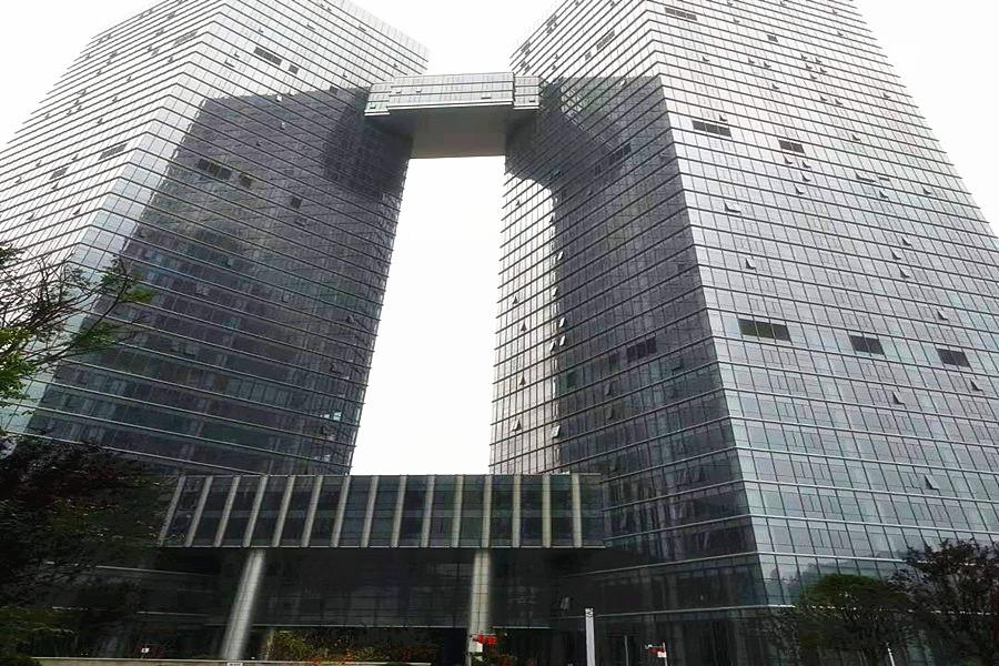 贵阳中天未来方舟D1组团写字楼公共部分精装修项目